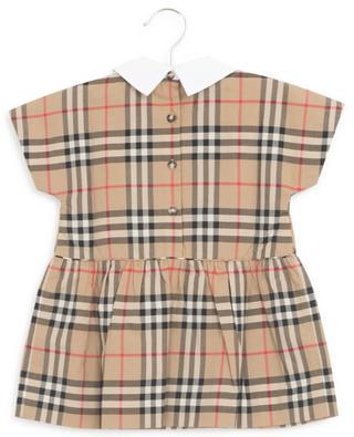 Robyn check print dress BURBERRY
