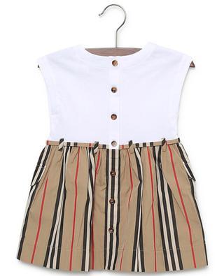 Ramona Icon Stripe sleeveless cotton dress BURBERRY