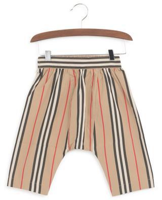 Pantalon rayé en popeline Icon Stripe BURBERRY