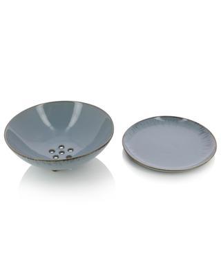 Petite passoire en céramique avec sous-plat SERAX