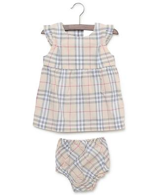 Reanne Vintage Check sleeveless printed cotton dress BURBERRY
