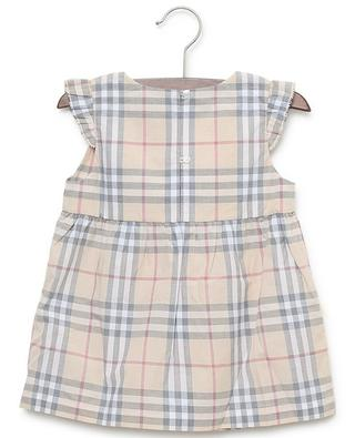 Reanne Vintage Check sleeveless printed cotton dress BURBERRY