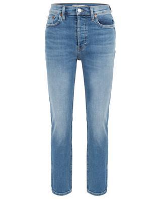 Gekürzte hoch sitzende Jeans High Rise Ankle Crop RE/DONE