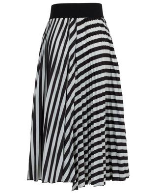 Cool Graphic striped pleated skirt SCHUMACHER