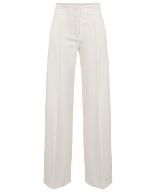 Sophisticated Perfection high-rise wide-leg crepe trousers DOROTHEE SCHUMACHER