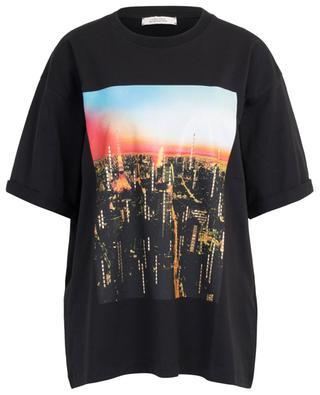 T-Shirt aus Baumwolle mit Tokyo-Print All Time Favorites DOROTHEE SCHUMACHER