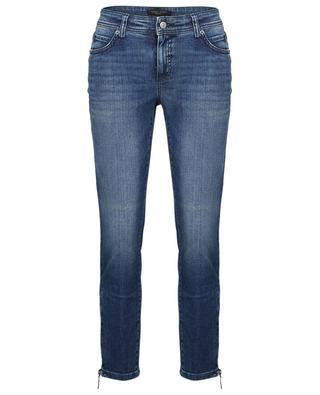 Parla slim fit jeans with zippered ankles CAMBIO