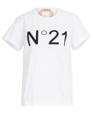 T-shirt col rond en coton N°21