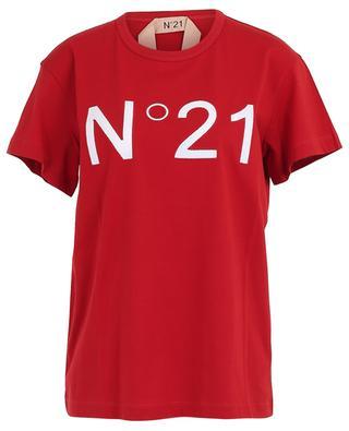 Rundhals-T-Shirt aus Baumwolle N°21