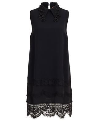 Viscose blend sleeveless dress N°21