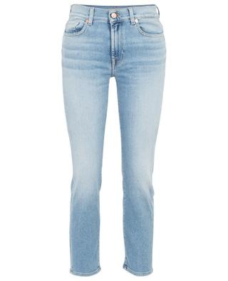 Roxanne Ankle Vintage Blue Eyes cropped jeans 7 FOR ALL MANKIND