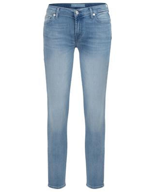 The Skinny Crop distressed cropped jeans 7 FOR ALL MANKIND