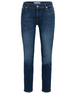 Mid Rise Roxanne Crop distressed cropped jeans 7 FOR ALL MANKIND