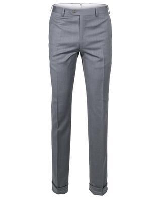 Pantalon à pinces en laine vierge BRIONI