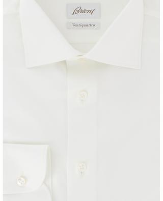 Hemd aus Baumwolltwill Ventiquattro BRIONI