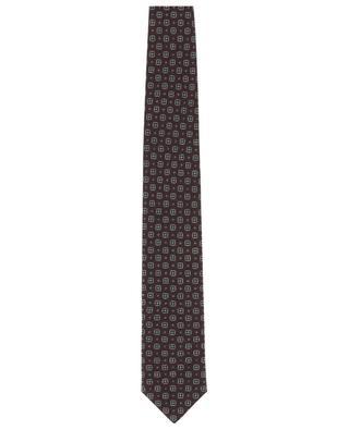 Krawatte aus Wolle und Seide mit Print BRIONI