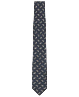 Paisley print silk tie BRIONI