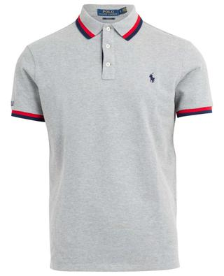 Slim fit piqué cotton polo shirt POLO RALPH LAUREN