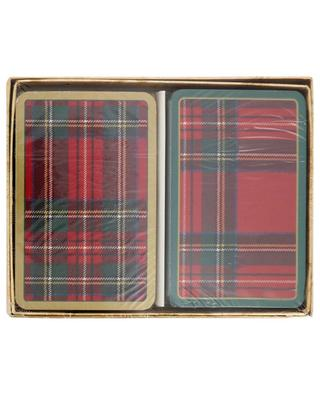 Plaid two card games CASPARI