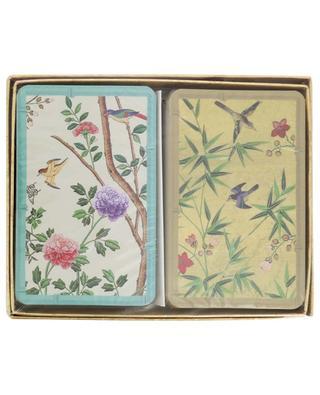 Zwei Kartenspiele Chinese Wallpaper CASPARI
