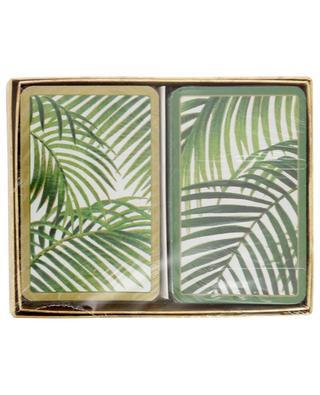 Deux jeux de cartes Under The Palms CASPARI