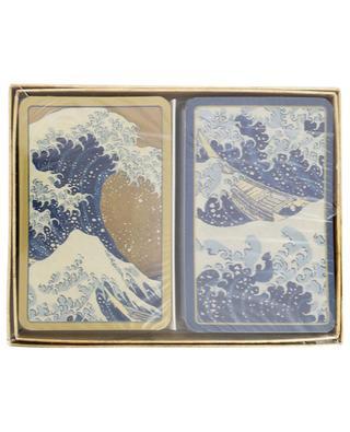 Deux jeux de cartes The Great Wave CASPARI