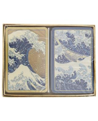 The Great Wave two card games CASPARI