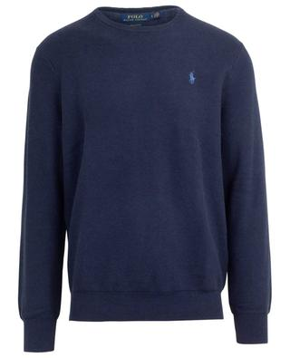 Crewneck piqué cotton jumper POLO RALPH LAUREN
