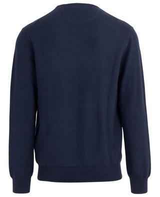 Pullover mit Rundhalsausschnitt aus Baumwollpiqué POLO RALPH LAUREN