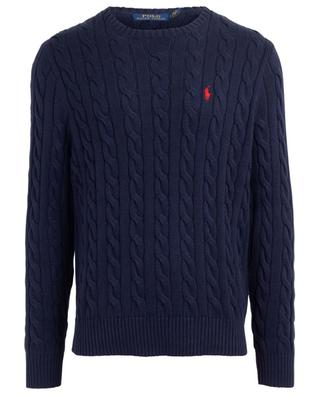 Cable-knit cotton jumper POLO RALPH LAUREN