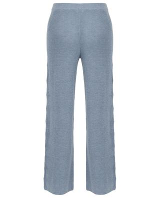 Cynthia knitted wide-leg trousers SKIN