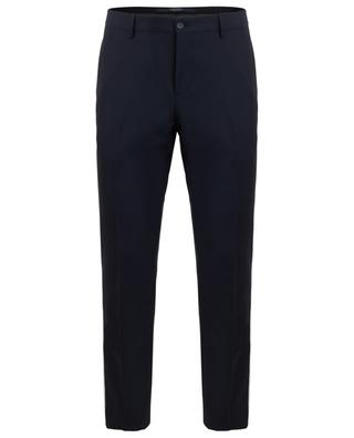 Striped wool and mohair blend trousers VALENTINO