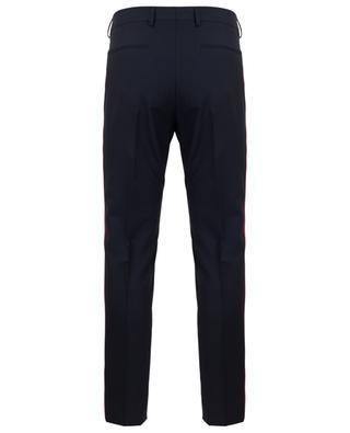 Pantalon en laine et mohair mélangés à rayures VALENTINO