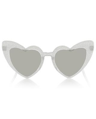 Heart shaped glitter sunglasses MONNALISA