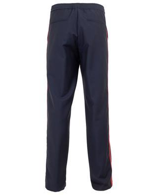 Slim-Fit-Hose aus Wolle und Mohair mit Seitenbändern VALENTINO