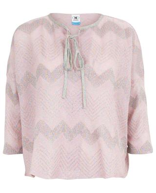 Top aus Lurex mit Chevron-Muster M MISSONI