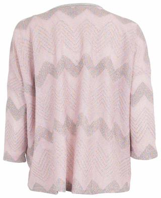 Top en lurex motif chevrons M MISSONI