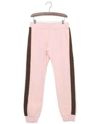 Pantalon de jogging en coton FF FENDI