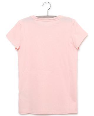 T-shirt en coton imprimé logo FENDI