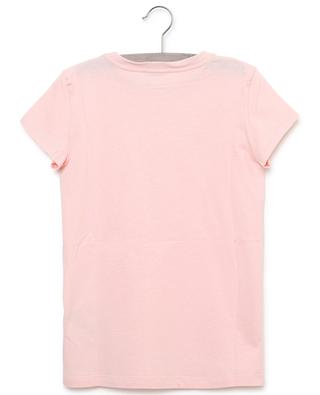 Logo print cotton T-shirt FENDI
