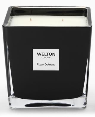 Fleur D'Ambre Large scented candle - 1,2 kg WELTON LONDON