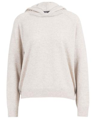 Bead embroidered hooded jumper with Lurex details PRINCESS