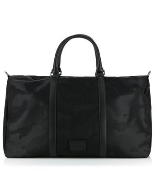 Reisetasche aus Nylon und Leder Camouflage VALENTINO