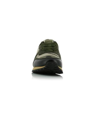 Rockrunner low-top lace-up sneakers in camouflage knit VALENTINO