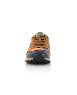 Camouflage Rockrunner suede and nylon sneakers VALENTINO