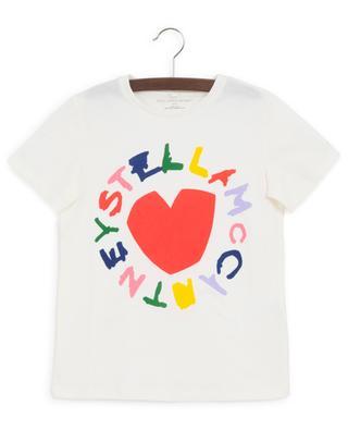 Logo and heart print T-shirt STELLA MCCARTNEY KIDS