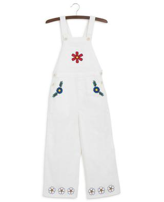Floral denim dungarees STELLA MCCARTNEY KIDS