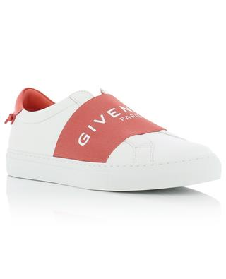 Leather slip-on sneakers with elasticated band Givenchy Paris GIVENCHY