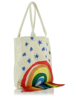 Shopper aus Baumwolle Rainbow STELLA MCCARTNEY KIDS