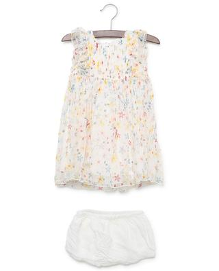 Geblümtes Seidenkleidchen Splash Flowers STELLA MCCARTNEY KIDS